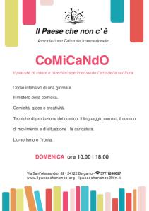CoMiCandO laboratorio di scrittura comica