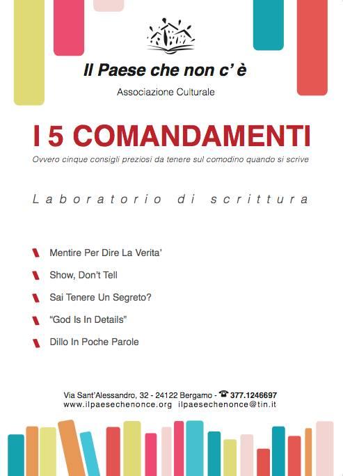 I 5 COMANDAMENTI