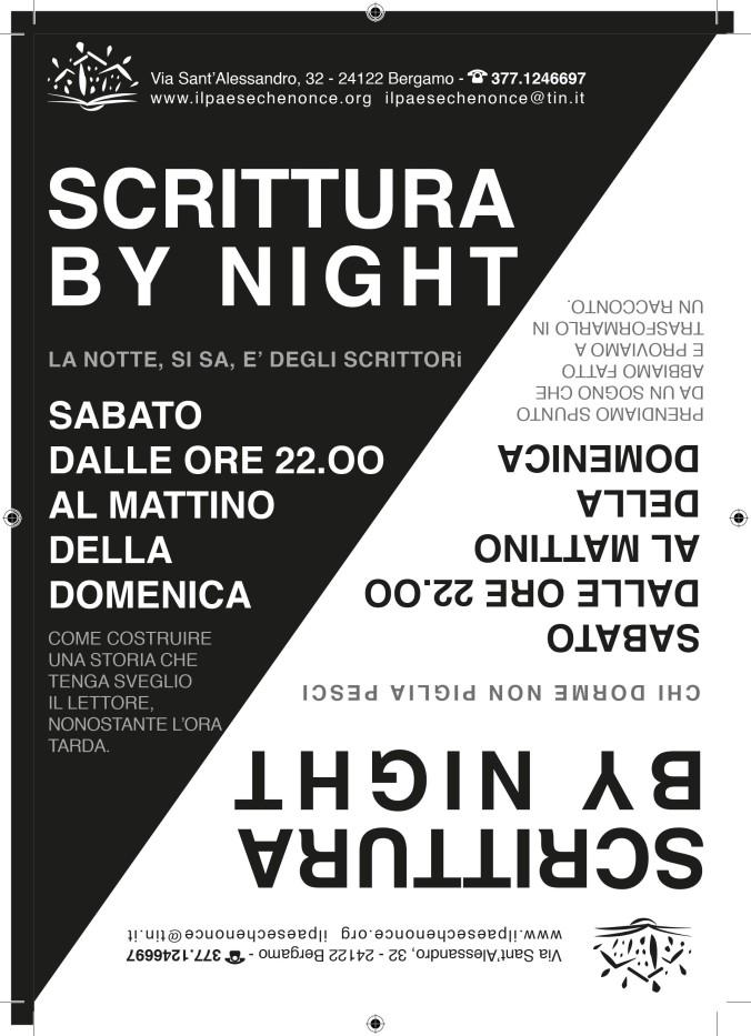 Volantino_scrittura_bynight in nero