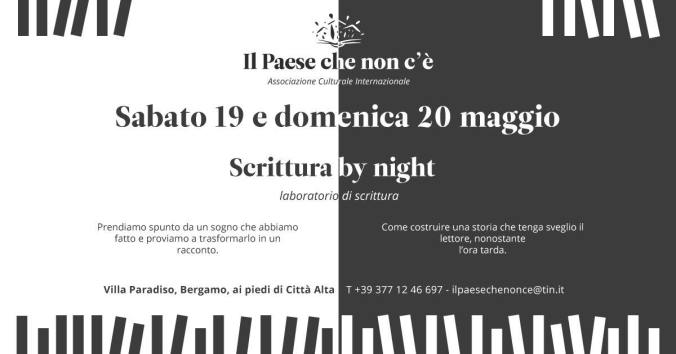 BY NIGHT 19 E 20 MAGGIO